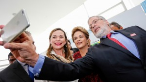 Brasília - DF, 11/01/2016. Presidenta Dilma Rousseff durante cerimônia de sanção do marco legal da ciência, tecnologia e inovação e lançamento da chamada universal no Palácio do Planalto. Foto: Ichiro Guerra/PR