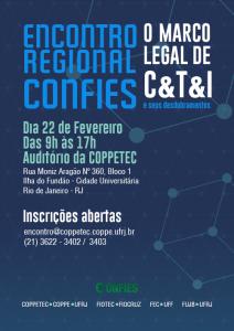 Cartaz Encontro Regional Confies