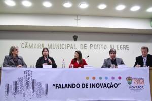 """Porto Alegre, RS - 12/05/2016 I Encontro """"Falando em Inovação"""" Local: Plenário Ana Terra – CMPA Foto: Joel Vargas/PMPA"""