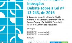 """SEMINÁRIO """"O Marco Legal da Ciência, Tecnologia e Inovação: Instrumentação de ambiente menos propenso a crises"""""""