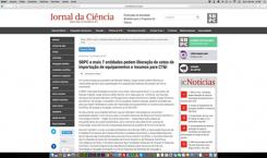 SBPC E MAIS 7 ENTIDADES PEDEM LIBERAÇÃO DE COTAS DE IMPORTAÇÃO DE EQUIPAMENTOS E INSUMOS PARA CT&I