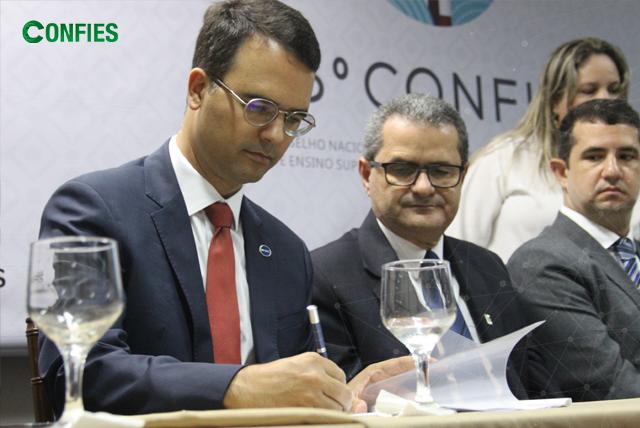 Termo de Entendimento com a CGU é assinado durante Encontro Nacional das Fundações, em Maceió/AL.