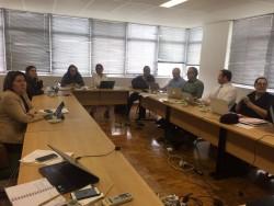 Reunião na SBPC, São Paulo
