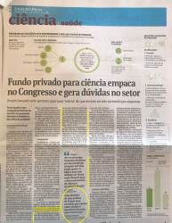 Clipping 09042018 Folha SP Fundos Patrimoniais