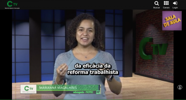 TV CONFIES Marianna Magalhães