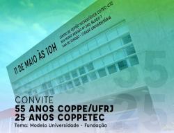 Convite evento COPPE:UFRJ