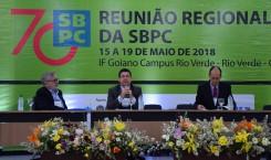 CONFIES participa de mesa-redonda na Reunião Regional SBPC, em Rio Verde (GO)