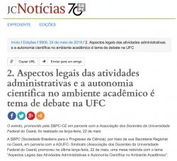 Print Jornal Ciencia mesa SBPC-ADUFC