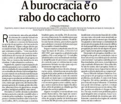Rabo do Cachorro e a burocracia